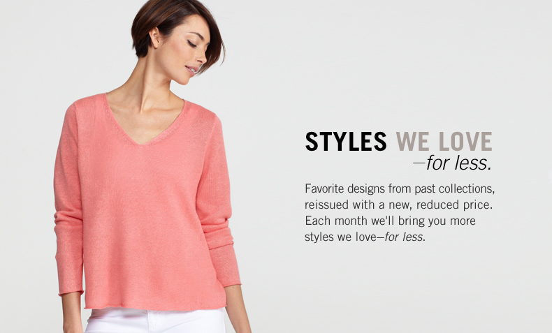 Styles we love for less