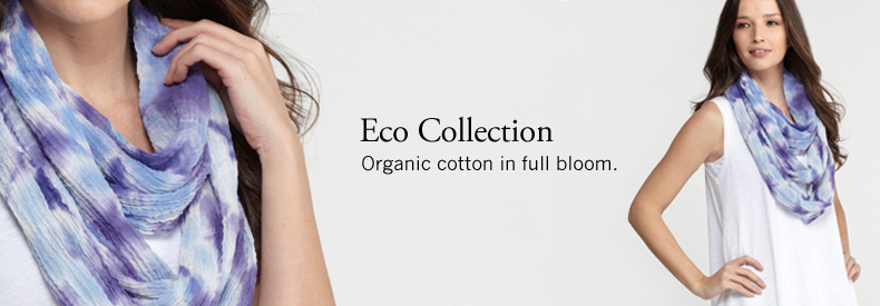 Eco Collection. Summer rolls in: organic linen.
