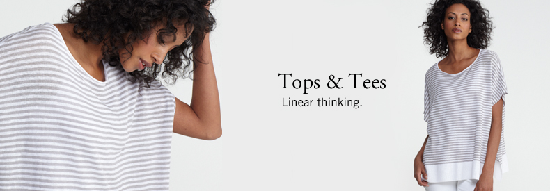 Tops. Linear thinking.